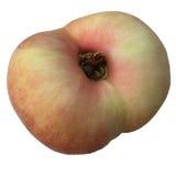 Fresh doughnut peach fruit Royalty Free Stock Images
