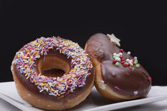 Fresh Doughnuts Royalty Free Stock Photography
