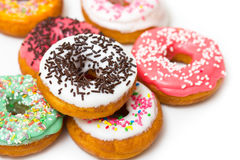 Fresh doughnuts Royalty Free Stock Photos
