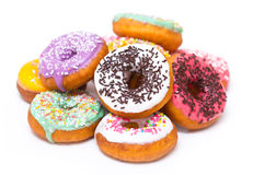 Fresh doughnuts Royalty Free Stock Image