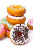 Fresh doughnuts Royalty Free Stock Photos
