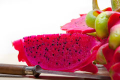Fresh dragon fruit Royalty Free Stock Photography
