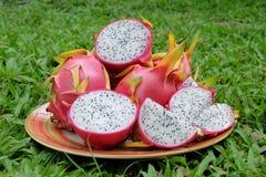 Fresh Dragon Fruits Royalty Free Stock Photos
