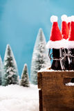 Fresh draught winter beer Stock Images