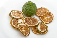 Fresh or dried bergamot Stock Photos