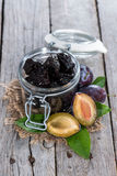 Fresh dried Plums Royalty Free Stock Images