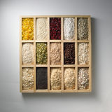 Fresh, dried spices Stock Images