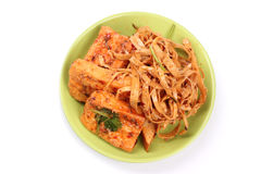 Fresh Dried tofu Royalty Free Stock Images