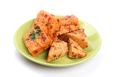 Fresh Dried tofu Royalty Free Stock Image