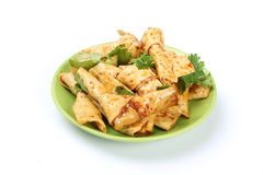 Fresh Dried tofu Royalty Free Stock Photo