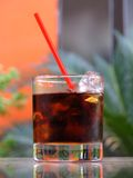 Fresh drink. A cup of fresh drink Stock Photo