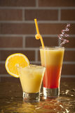 Fresh drink cocktail. Summer drink and cocktail,close-up Royalty Free Stock Image