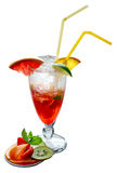 Fresh drink cocktail. Summer drink and cocktail for a fresh break Royalty Free Stock Images
