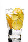 Fresh drink with lemon Royalty Free Stock Photo