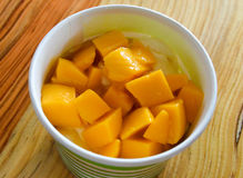 Mango toppings Royalty Free Stock Images