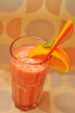 Fresh drink with orange Royalty Free Stock Images
