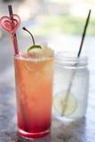 Fresh drink punch mocktail - party refreshment celebration fun c Stock Photos