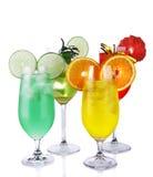 Fresh drinks Stock Image