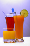 Fresh drinks Stock Photos