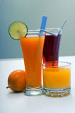 Fresh drinks Stock Image