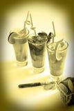 Fresh drinks Stock Photography