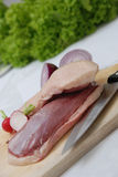 Fresh duck breast Royalty Free Stock Photos