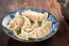 Fresh dumplings Stock Image