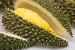 Fresh durian fruit, king of fruits, Thailand Stock Photos
