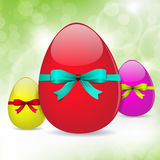 Fresh Easter Eggs Background Royalty Free Stock Photos