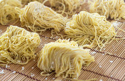 Fresh Egg Noodle, Ramen Stock Photos