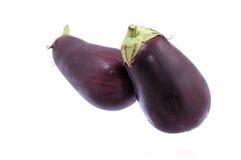 Fresh Eggplant Royalty Free Stock Photos
