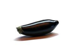 Fresh eggplant. Fresh juicy eggplant on a white background Stock Photos