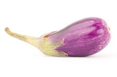 Fresh eggplant. On white background Stock Photo