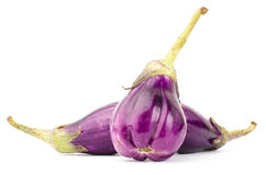 Fresh eggplant Stock Photo