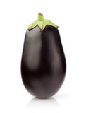 Fresh Eggplant on white Royalty Free Stock Photo