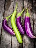 Fresh eggplant Stock Photo