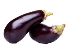 Fresh eggplants Royalty Free Stock Photos
