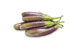 Fresh eggplants Royalty Free Stock Image