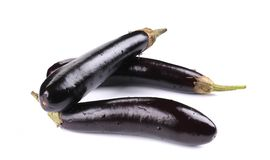 Fresh eggplants. Royalty Free Stock Image