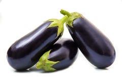 Fresh eggplants Royalty Free Stock Photos