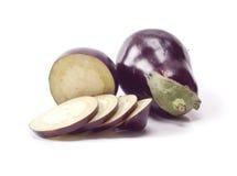 Fresh eggplants Stock Image