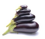 Fresh eggplants Stock Photography