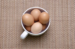 Fresh eggs Stock Photo