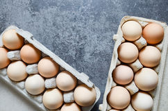 Fresh Eggs background Royalty Free Stock Photo