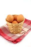 Fresh eggs Royalty Free Stock Photography