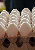 Fresh eggs in a market Stock Photography