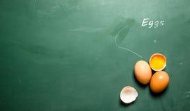 Fresh eggs . Stock Image