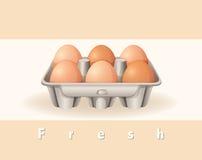 Fresh eggs Royalty Free Stock Photo