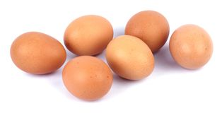 Fresh Eggs Stock Photography