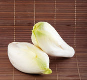 Fresh endives close up Royalty Free Stock Photo